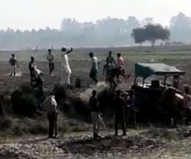 haryana up border dispute bloody conflict between farmers