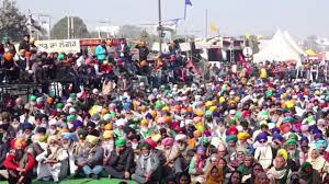 farmer protest kundli border