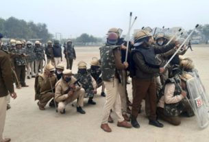 sonipat farmer movement special training to be given to police to prevent riot