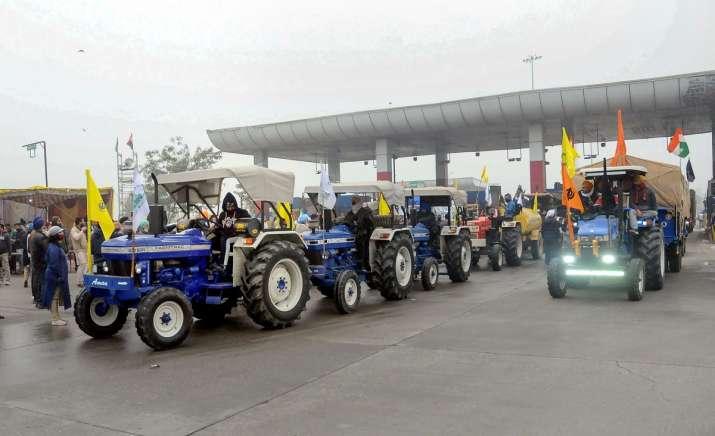 armers protest tractor parade two farmers organisations suspend sonipat news