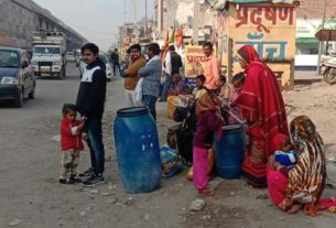 sonipat labor workers continue to flee due to shutdown of industry
