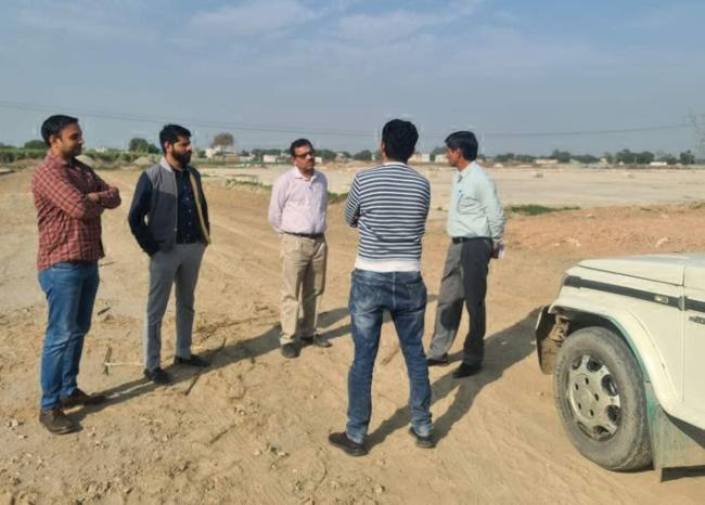 sonipat new sub yard will start in rabi season ready by march