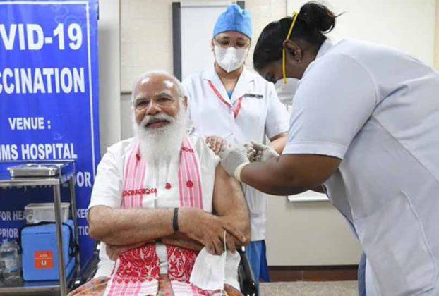 pm-narendra-modi-took-first-dose-of-the-covid-19-vaccine
