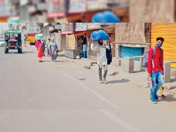 migration-in-sonipat-intensifies-as-weekend-lockdown-begins