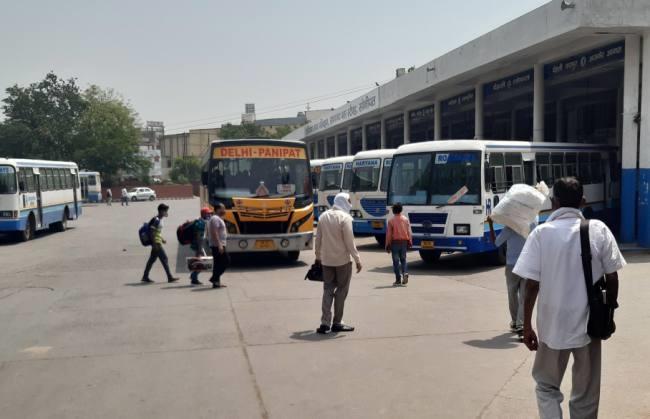 sonipat-delhi-bus-haryana-roadways
