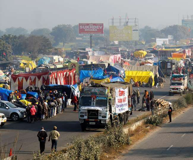 sonipat ncr july 21 will be an important day to open the way on the kundli border over anti kisan andolan