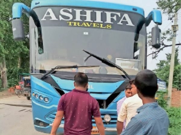 25 children were being brought from bihar in 4 buses for child labor one bus each caught in murthal panipat and delhi